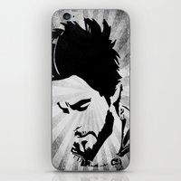 jared leto iPhone & iPod Skins featuring Jared Leto by Emma Porter