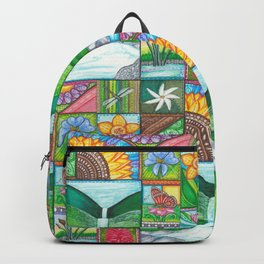 Be Free, Be Wild, Be Friends Backpack