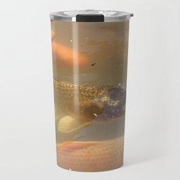 Carp fish Travel Mug