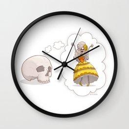 Halloween Costumes Wall Clock