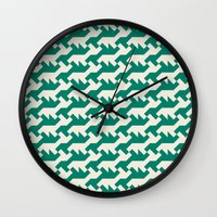 nintendo Wall Clocks featuring Nintendo .green by guapa.