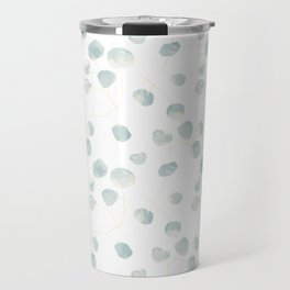 Silver Dollar Eucalyptus Travel Mug