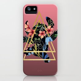 Floral Stitch 626 iPhone Case