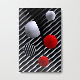 opart balls -2- Metal Print