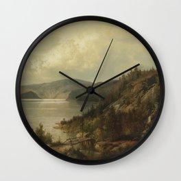 Hermann Ottomar Herzog - The Old Bridge Wall Clock