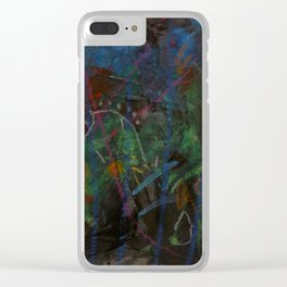 Midnight Garden cycle22 1 Clear iPhone Case