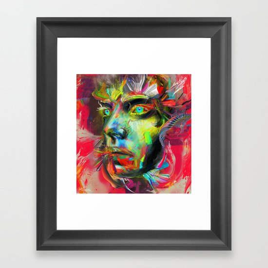 Rainscape Rhythm Framed Art Print