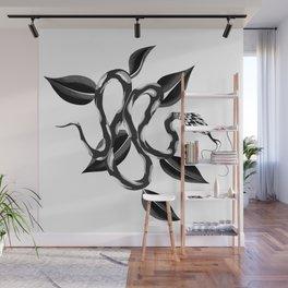 Black Snake Flash art by GK Wall Mural