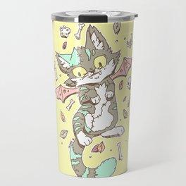 Monster Cat Travel Mug