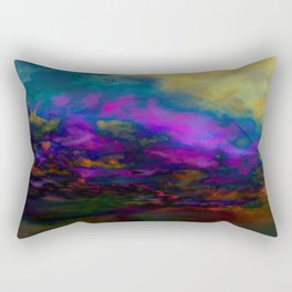 deep purple sky Rectangular Pillow