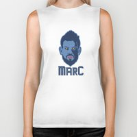 marc johns Biker Tanks featuring Marc Gasol by Ric_Hardwood