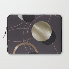 Golden Eclipses Laptop Sleeve