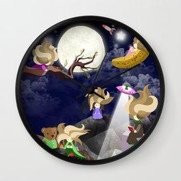 WasteLand Girl Wall Clock