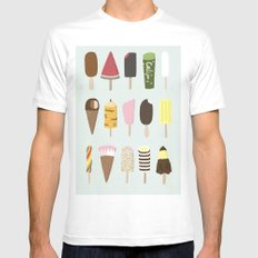 Happiness Mens Fitted Tee White MEDIUM