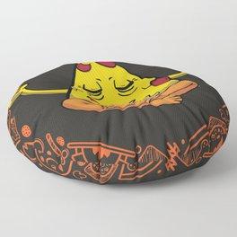 In Pizza We Crust Floor Pillow