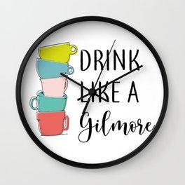 Drink like a... Wall Clock