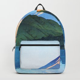 Kawase Hasui - Hakone, Ashino Lake - Digital Remastered Edition Backpack