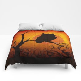 Halloween Is Coming Comforters