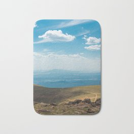 Path to the top of Pikes Peak Bath Mat