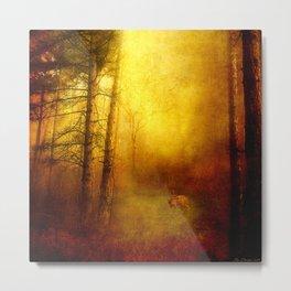 Deep in the Wood Metal Print