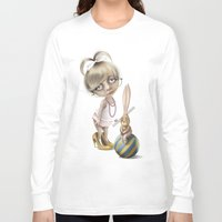 teacher Long Sleeve T-shirts featuring The teacher by daltrOnde