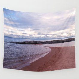 Long Rock In Lake Superior Wall Tapestry