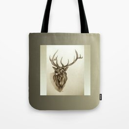 Elk Portrait - In the Roar Tote Bag