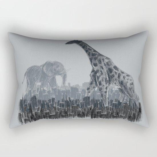 The Tall Grass Rectangular Pillow