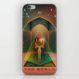 The World iPhone Skin