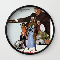 scarface Wall Clocks featuring Cheney Scarface by vipez