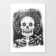 Mors Canvas Print