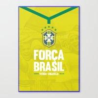 brazil Canvas Prints featuring Brazil by liamhohoho