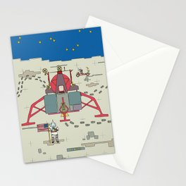 Moon Lem 1969 Stationery Cards