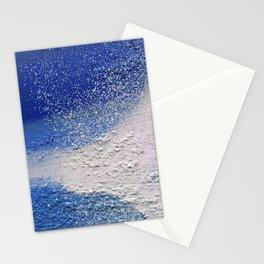 Splatter-Blue Stationery Cards