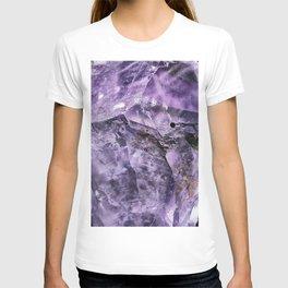Amethyst Crystal T-shirt