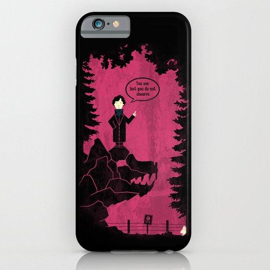 Baskervilles iPhone & iPod Case