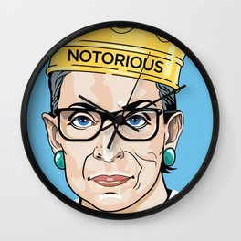 The Notorious - R.B.G Wall Clock