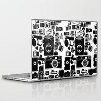 cameras Laptop & iPad Skins featuring Cameras by Ewan Arnolda