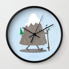 Lil' Hiker Wall Clock