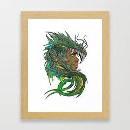 Dragon Master Framed Art Print