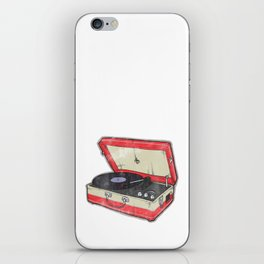 Vintage Record Player iPhone Skin