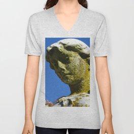 The Goddess' Face Unisex V-Neck