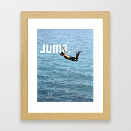 J.U.M.P. Framed Art Print