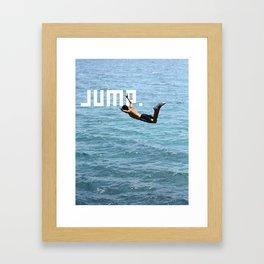 J.U.M.P. Framed Art Print