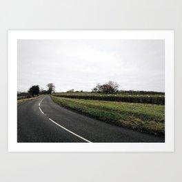 British countryside Art Print