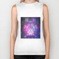 universe Biker Tanks featuring Universe by haroulita
