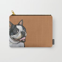 Snoopy the Boston Terrier Carry-All Pouch