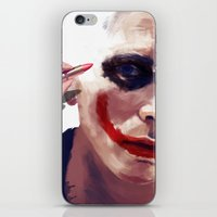 christian iPhone & iPod Skins featuring Christian Bale by Pazu Cheng