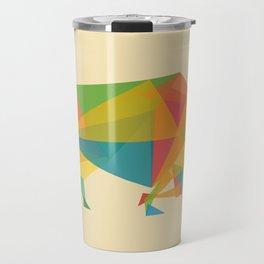 Fractal Geometric Bull Travel Mug
