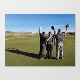 golfing buddies Canvas Print